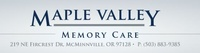 Maple Valley Memory Care