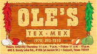 Ole's Neighborhood Tex-Mex