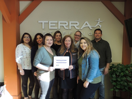 Terra Staffing Services 35 yr. Annivesary!!