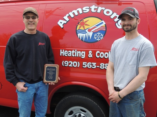 Armstrong Heating & Cooling 25 yr Anniversary
