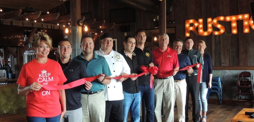 The Rustic offical Ribbon Cutting!