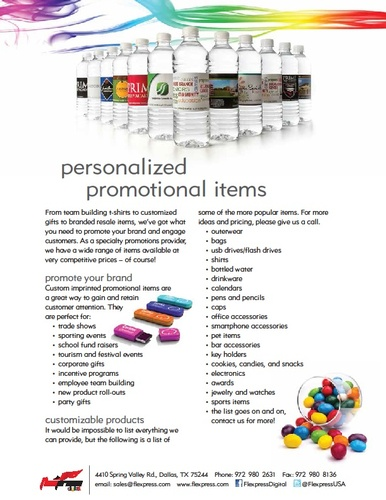 Personalized Promotional Items