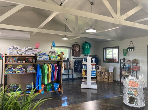 Purchase Merchandise and amenities in our gift shop