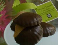 Chocolate Dipped Coquilles