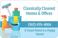 Classically Cleaned Homes & Offices