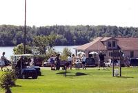 This Legendary Golf Course lays between the pines and hardwoods of the Majestic Chequamegon National Forest and views of the shimmering waters of Barker Lake
