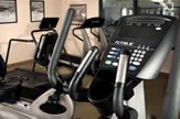 Keep yourself fit while on the road using our fitness center