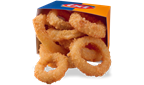 Cheese Curds, Onion Rings, and our one-of-a-kind french fries