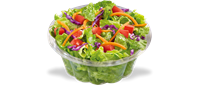salads-and you can top it off with your favorite meat!