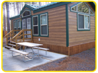 Rental Cabins available to make your vacation more convenient