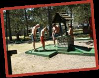 take some time to enjoy a round of mini golf on the KOA grounds