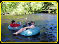 go tubing on the Namekagen River for a fun, relaxing time