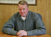 DJ Aderman, President for Futurewood Corp., is responsible for land and timber acquisition