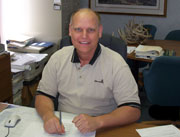 Greg Biskup, is Controller, and responsible for financial analysis, projections, reporting, and on the executive team