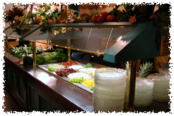 visit our website for current menu and pricing for our buffet