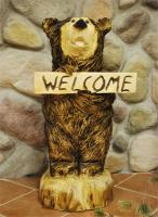 adorable wood carvings to decorate that patio, deck, driveway or anywhere!