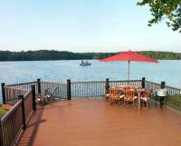 Imagine the view from your new Timbertech Low-maintenance deck. We can help.