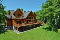 Luxury log home lake rentals