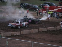 demolition derby Saturday