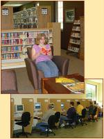 the Library offers public computer use with your Library Membership