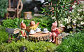 Miniature garden party
