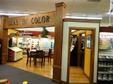 Award-winning paint department