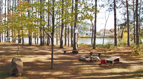 Recreational area at Mallards' Landing