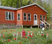 Clean cabins on Moose Lake