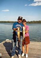 Great fishing on Moose Lake