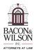 Bacon Wilson, P.C.