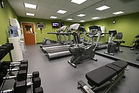 Our new Fitness Centre is clean, bright and air conditioned