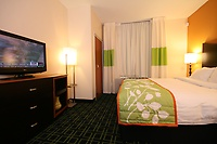 The King room offers a docking station, HD flatscreen TV and room to relax