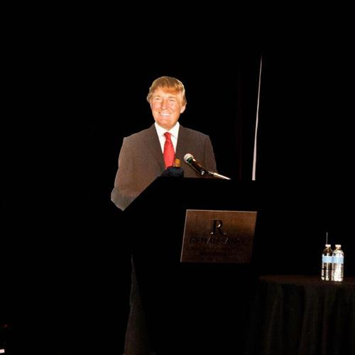''The Donald'' at our 2013 Annual Dinner
