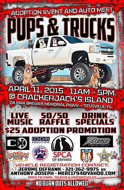 Pups and Trucks Adoption Event and Auto Meet