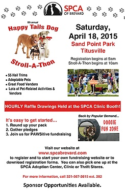 6th Annual Happy Tails Dog Stroll-A-Thon