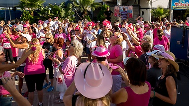 Pink Ribbon Walk at Port Canaveral - Butterfly Release