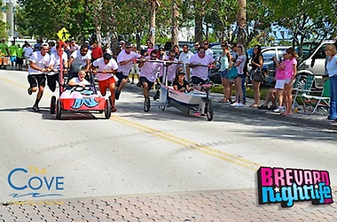 Pink Ribbon Walk at Port Canaveral - Bed & Bathtub Race