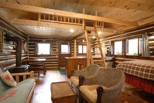 Sunshine (2 bed cabin) interior