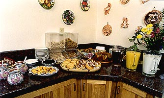 Homemade Breakfast buffet