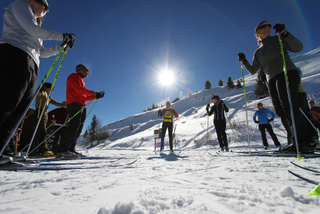 Learn to ski with private or group lessons and clinics.
