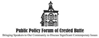 Public Policy Forum of Crested Butte
