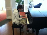 Playing Piano