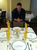 Chef Eric and Diniing Table