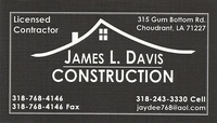 James L. Davis Construction, LLC