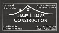 James L. Davis Construction, LLC