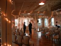 The Ballroom Suite at the Old Bag Factory set up for a wedding