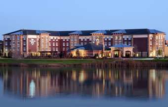 Homewood Suites Denton, Located adjacent to beautiful Unicorn Lake.