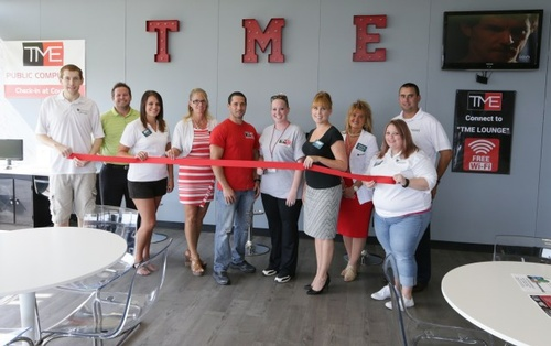 Ribbon Cutting for our Grand Opening at our new location