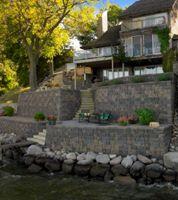 Lakeside Retaining Walls
