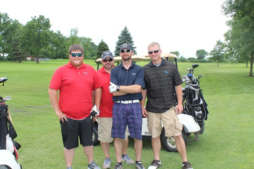 2018 Chamber Golf Outing Team
